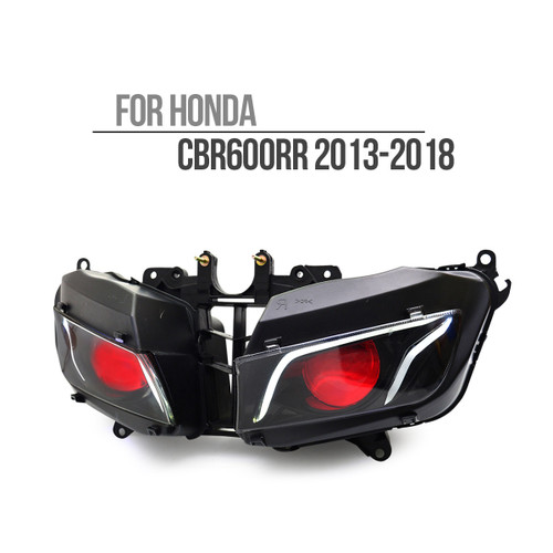 2013 2014 2015 2016 2017 2018 Honda CBR600RR headlight assembly