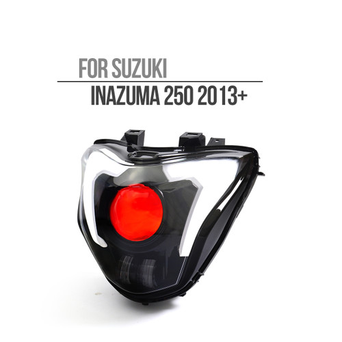 Fit for Suzuki Inazuma 250 2013+ Full LED Headlight Assembly V2