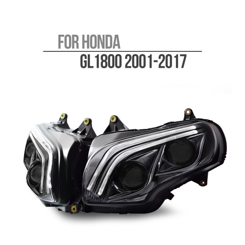 Honda GoldWing GL1800 2001-2017  Full LED Headlight