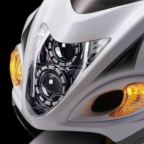 Fit for Suzuki Hayabusa GSX1300R 2008-2019 Full LED Headlight Assembly V2