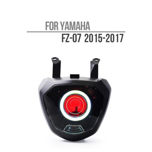 2015 2016 2017 yamaha fz07 mt07 headlight