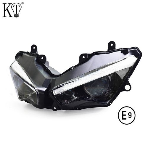 Fit for Kawasaki Ninja ZX6R 2019+ Full LED  Headlight Assembly
