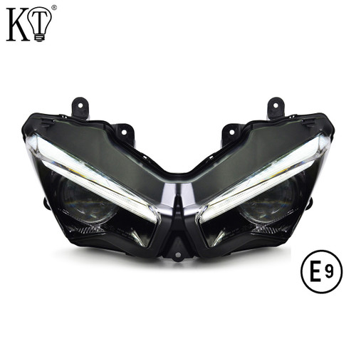 Fit for Kawasaki Ninja 650 2020+ Full LED Headlight Assembly