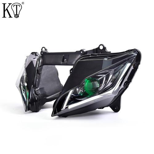 Fit for Kawasaki Ninja ZX10R ZX10RR 2016-2020 Full LED Headlight Assembly