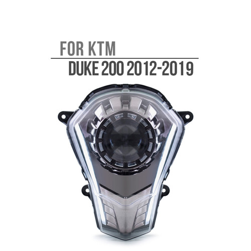 Fit for KTM Duke 200 2012-2019 Full LED Headlight Assembly