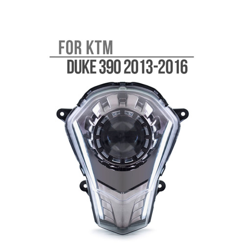 Fit for KTM Duke 390 2013-2016 Full LED Headlight Assembly