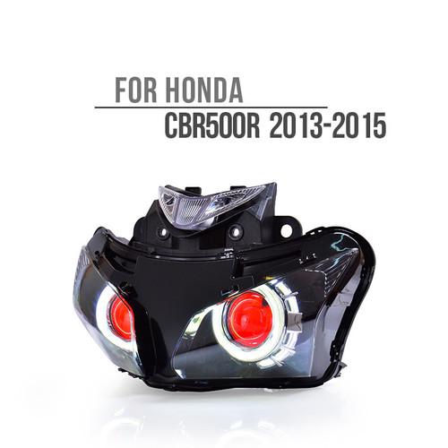 2013  Honda CBR500R headlight