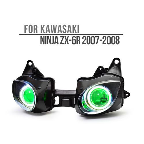 2007 2008 Kawasaki Ninja ZX6R headlight