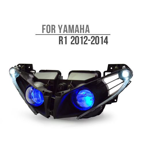 2012 yamaha r1 headlight