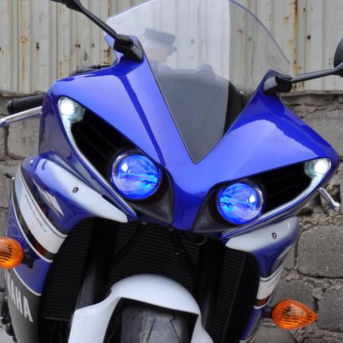 Fit For Yamaha R1 2012 2014 Led Demon Eye Headlight Assembly