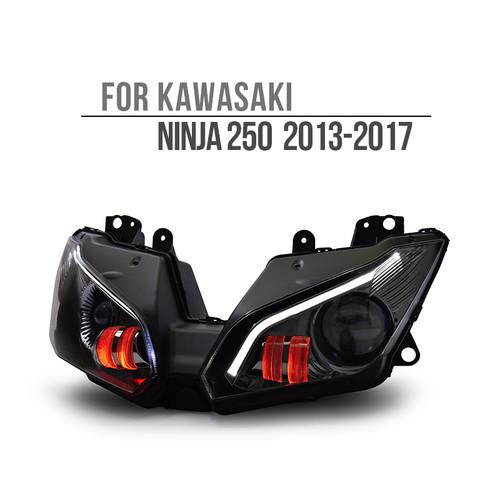 2013 2014 2015 2016 2017 2018 Kawasaki Ninja 250 Headlight Assembly