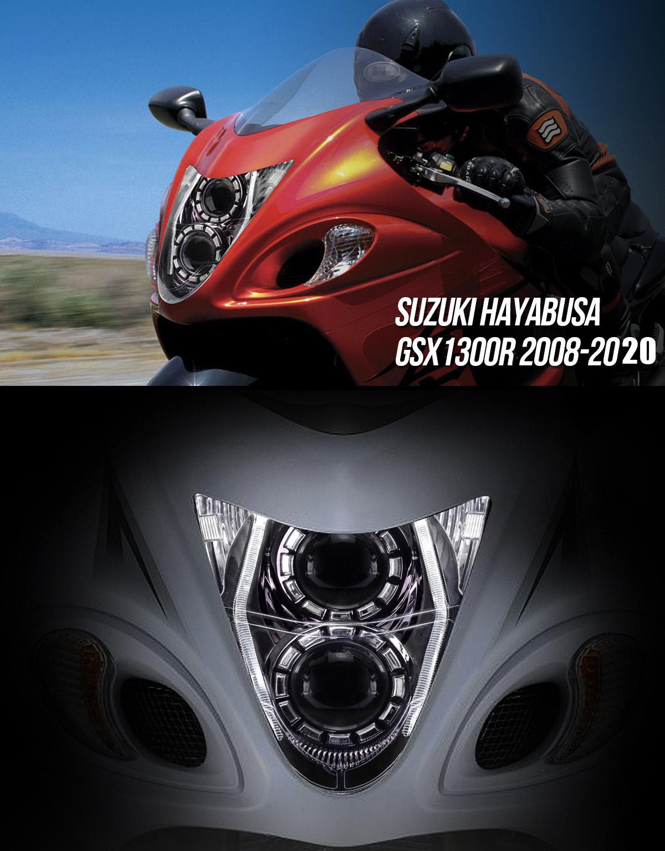 Suzuki Hayabusa GSX1300R Headlight 2008 2009 2010 2011 2012 2013 2014 2015 2016 2017
