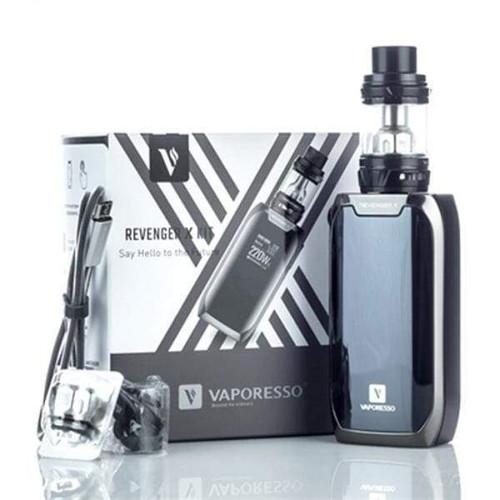 Vaporesso Revenger X 220W TC Vape Starter Kit - Black starter kits MrVapes Australia