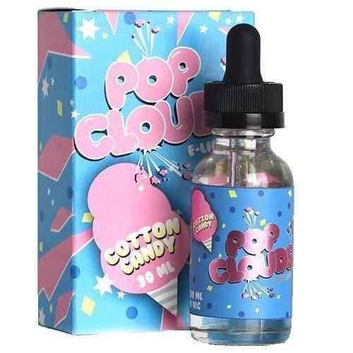 POP CLOUDS E-LIQUID - COTTON CANDY - 30ML Juice MrVapes Australia