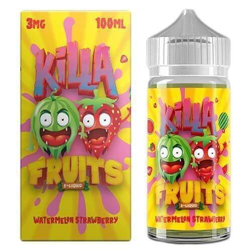 Watermelon Strawberry - Killa Fruits E Liquid 100ml Juice MrVapes Australia