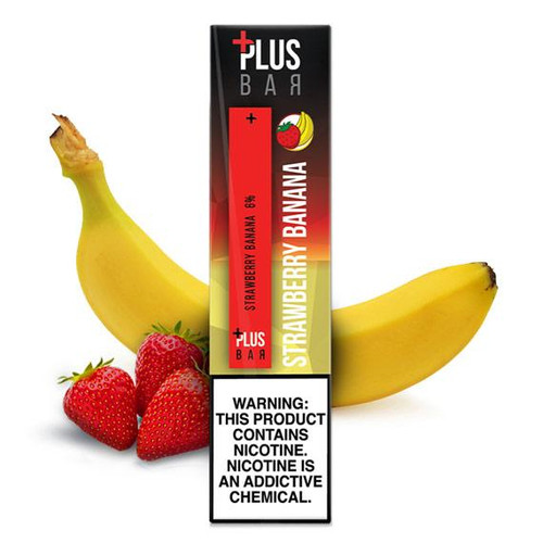 Plus Pods - Disposable Vape Pod Device - Strawberry Banana