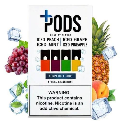 Iced Multipack - Plus Pods 4 Pack ePods Mrvapes Australia 1