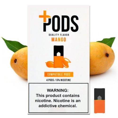 Mango Plus Pods 4 Pack ePods Mrvapes Australia 1