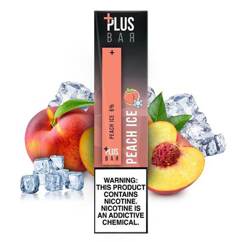 Plus Pods - Disposable Vape Pod Device - Peach Ice
