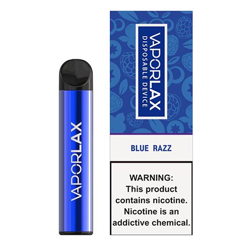 VaporLAX - Disposable Vape Device - Blue Razz Hardware Mrvapes Australia 1