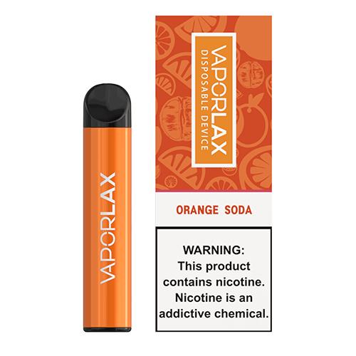 VaporLAX - Disposable Vape Device - Orange Soda Hardware Mrvapes Australia 1