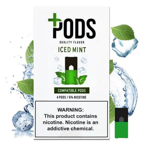 Iced Mint Plus Pods ePods Mrvapes Australia 1