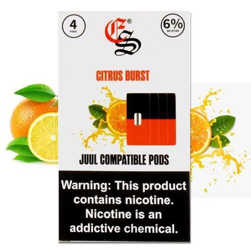CITRUS BURST EONSMOKE PODS 4 Pack ePods Mrvapes Australia 1
