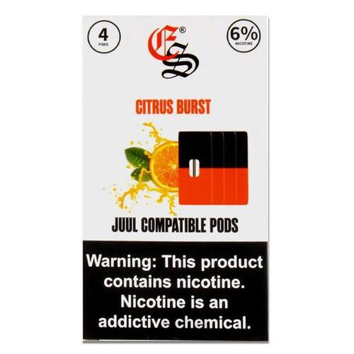 CITRUS BURST EONSMOKE PODS 4 Pack ePods Mrvapes Australia 2