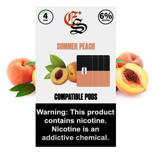 Summer peach eonsmoke pods