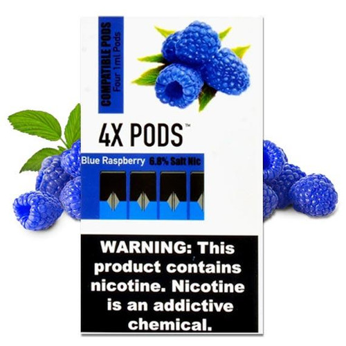 4X Blue Raspberry