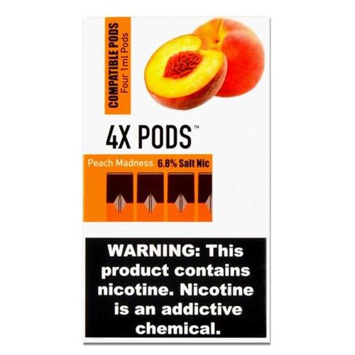 4X Peach Madness 4 Pods Juul Compatible australia