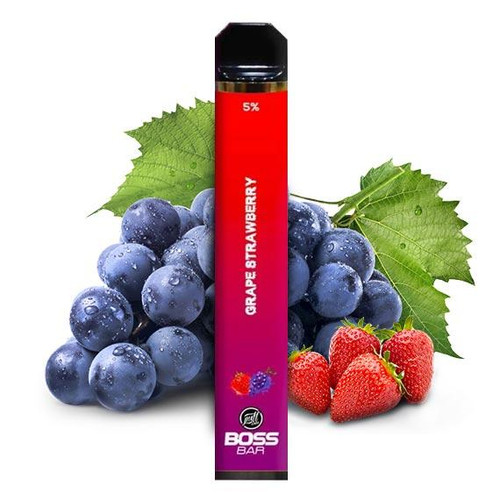 BOSS Bar by Puff Labs - Disposable Vape Device - Grape Strawberry