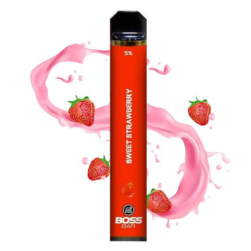 BOSS Bar by Puff Labs - Disposable Vape Device - Sweet Strawberry