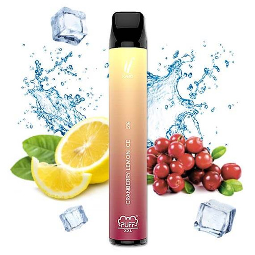 Cranberry Lemon Ice - Puff Bar Xxl disposable Mrvapes Australia 1
