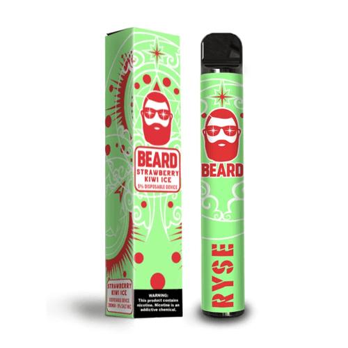 Strawberry Kiwi Ice - Beard Bar Disposable Vape disposable Mrvapes Australia 2