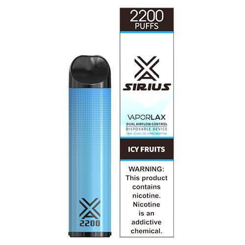 Sirius by VaporLAX - Disposable Vape Device - Icy Fruits Disposables Mrvapes Australia 1