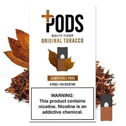 Original Tobacco 4 Pack - Plus Pods