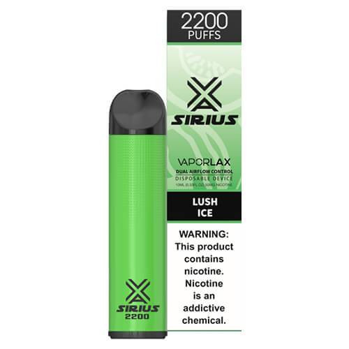 Sirius by VaporLAX - Disposable Vape Device - Lush Ice