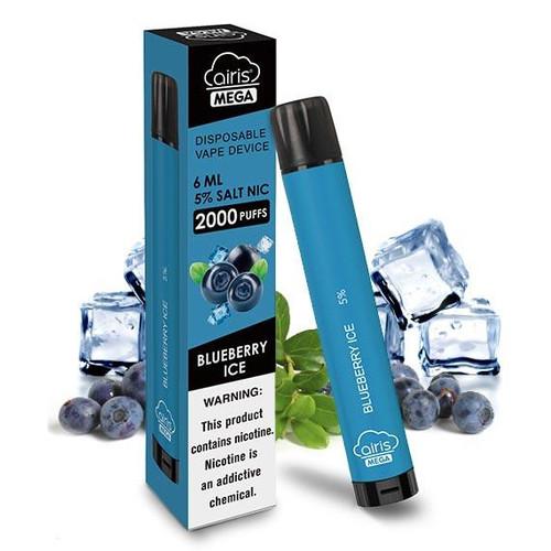 Blueberry Ice - Airis Mega Disposable Vape