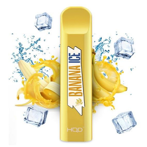HQD Cuvie Banana Ice - 20mg Disposable Vape X 1-1622712859
