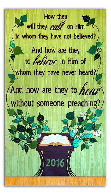 And how will the hear without someone preaching? - with Pulpit Tree