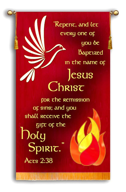 Wonderful Pentecost Banner for your Church!