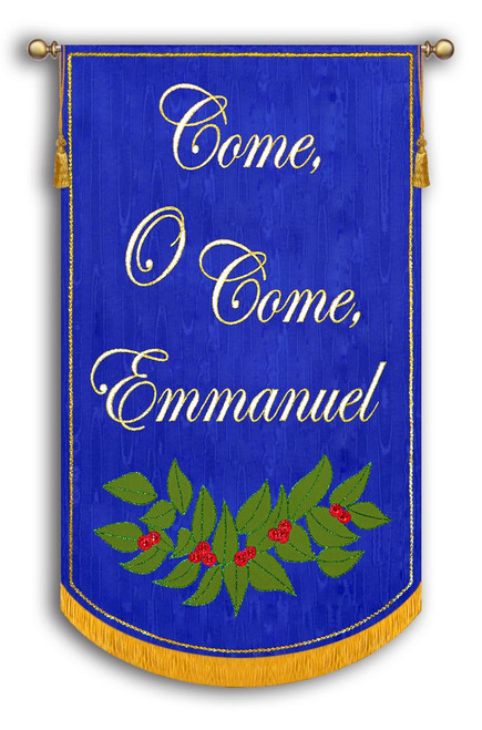 Shown on Royal Blue Background