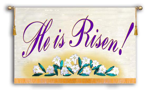 He is Risen Horizontal