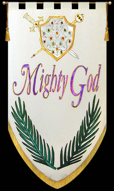Mighty God - white