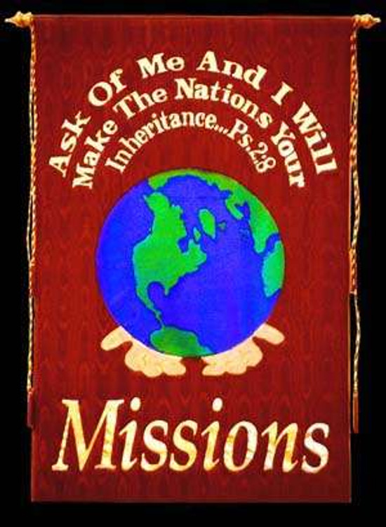 Missions - Psalm 2:8