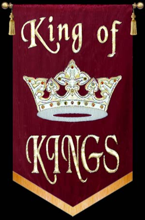 King of Kings with Crown
