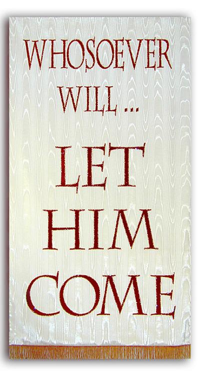 Whosover Will Romans 10:13 Invitation Banner