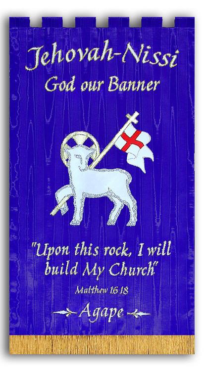 Jehovah Nissi Agape Banner