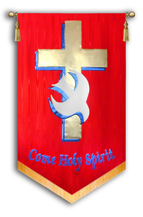 Come Holy Spirit Red Blue